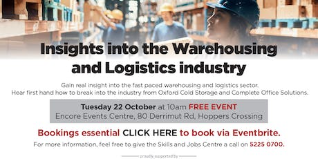 Insights into the Warehousing and Logistics industry tickets