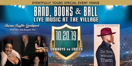 Eventfully Yours Presents Live Music at the Village with Cowboys Watch Party and Book Signing tickets