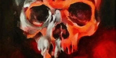 """""""Skulls on Canvas""""  A Spooky Night of Acrylic Painting with Jeremy Selzer tickets"""