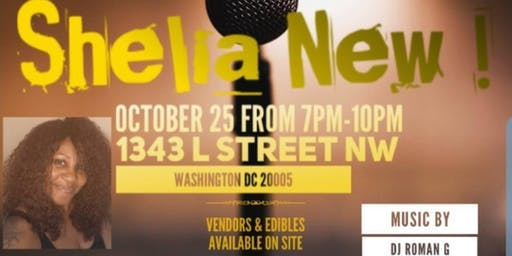 THE CATALINA MIXER presents A One Woman Comedy Show Starring Shelia New