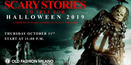 Halloween 2019 biglietti