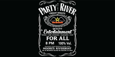 Party on the River at Moore's Riverboat tickets