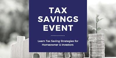 Tax Savings & Financial Planning Seminar