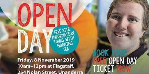 Flagstaff Open Day - Unanderra