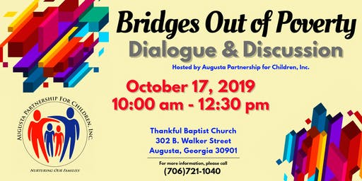 Bridges Out of Poverty Dialogue Discussion