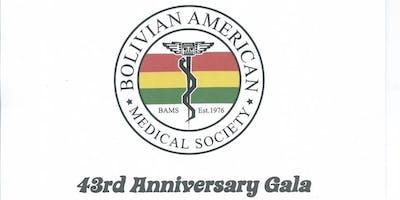 Bolivian American Medical Society 43rd Anniversary Gala