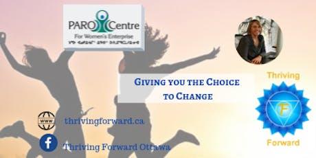Thriving Forward - Community Gathering for Women billets