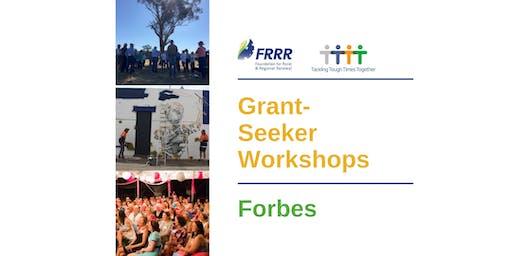 Free grantseeker workshop - Forbes