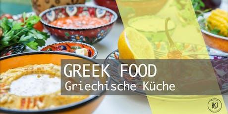 GREEK FOOD - Griechische Küche mit Roman Witt Tickets