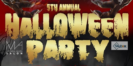 Michealallen salon presents 5th annual Halloween costume party