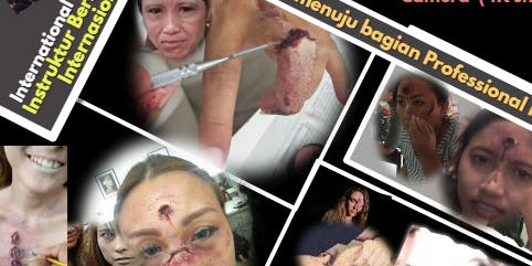 SFX (Special Effects)Film Make Up, Testing Class In Surabaya &Talent Events