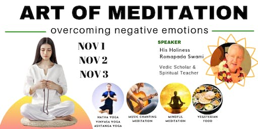 ART OF MEDITATION - Overcoming Negative Emotions