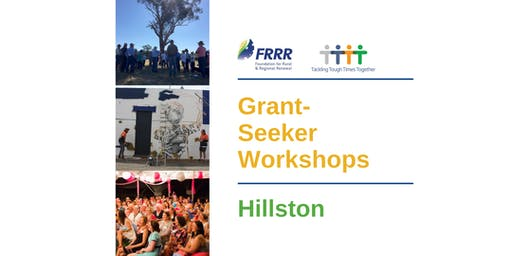 Free grantseeker workshop - Hillston