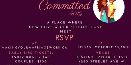 Committed - A Celebration of lasting Relationships ❤️ tickets
