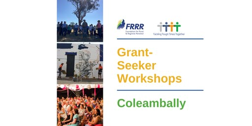 Free grantseeker workshop - Coleambally