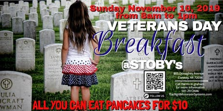 2019 Veterans Day - Pancake Fundraiser tickets