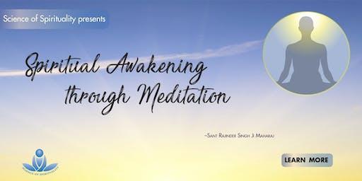 Spiritual Awakening through Meditation