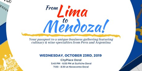 From Lima to Mendoza! tickets