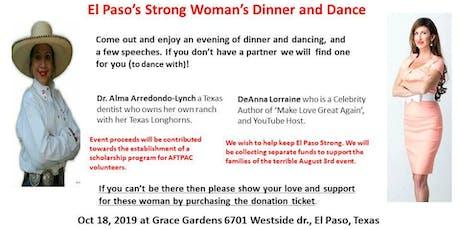 El Paso's Strong Women's Dinner & Dance tickets