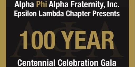 Epsilon Lambda Centennial Celebration Gala