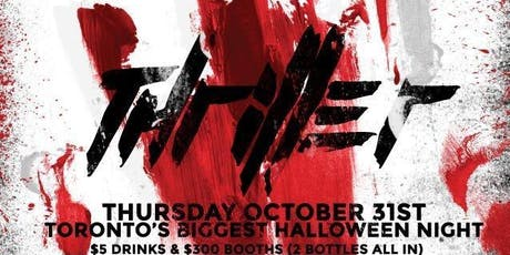 Halloween Thriller @ Fiction Nightclub // Thursday October 31st | tickets