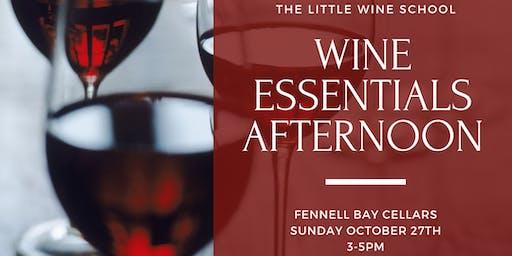 Wine Essentials Afternoon