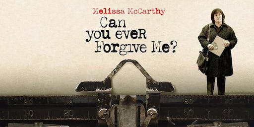 Film Club: Can You Ever Forgive Me (M, 106mins, 2018)