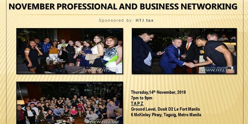 November Professional and Business Networking