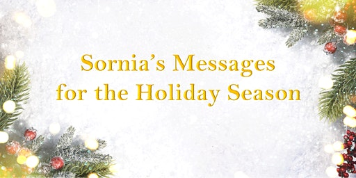 """""""Sornia's Messages For The Holiday"""" Channeler Laurie Stimpson"""