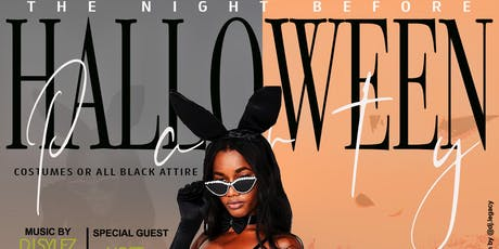 The Night Before Halloween - Costume and All Black party tickets
