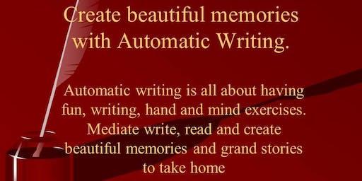 Automatic Writing, create beautiful memories