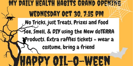 My Daily Health Habits Oiloween 2019 Launch Party tickets