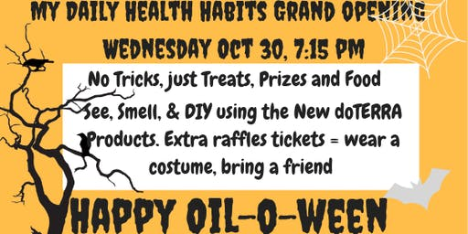 My Daily Health Habits Oiloween 2019 Launch Party