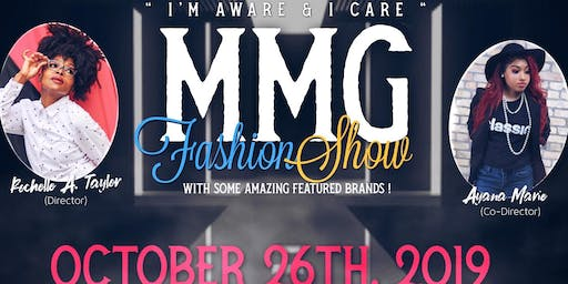 I'm aware , and I care MMG Fashion show