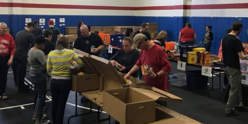 Halloween & Winter Coat Sort with Homeless Families Foundation - 10/22/19