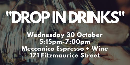 Drop in Drinks - Meccanico Espresso and Wine Bar