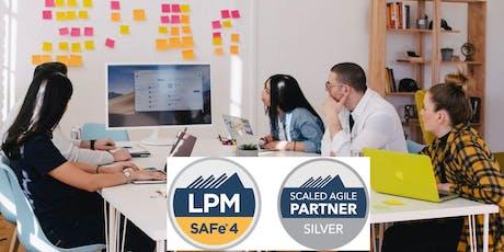 SAFe® 4.6 Lean Portfolio Management -Toronto-Nov 20-22 (LPM® Certification) tickets
