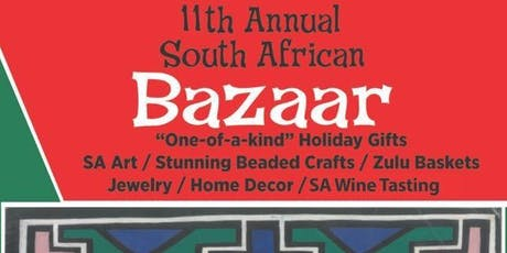 11th Annual South African Bazaar tickets