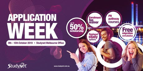 Application Fee Waiver Week in Melbourne tickets
