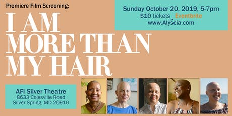 """Premiere Film Screening: """"I Am More Than My Hair"""" tickets"""