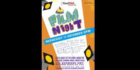 YourDNA Creative Arts Film Night 2019 tickets