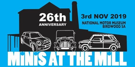 Minis at the Mill - Celebrating 60 Years of the Mini tickets