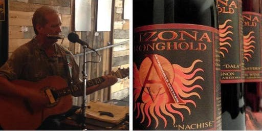Brian Peterman acoustic at AZ Stronghold Vineyards Tasting Room