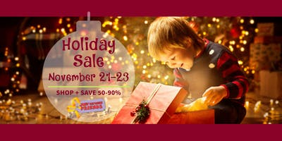 FREE General Admission | Holiday Toy & Baby Equipment Sale 2019