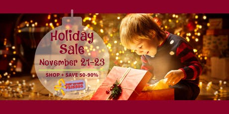 FREE General Admission | Holiday Toy & Baby Equipment Sale 2019 tickets