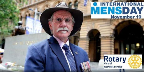 Rotary Norwest Sunrise - International Mens Day with Charlie Lynn OAM tickets