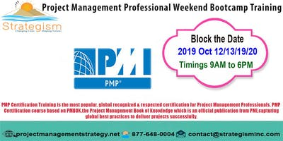 PMP weekend Bootcamp in Fremont-Oct-12,13,19,20-2019