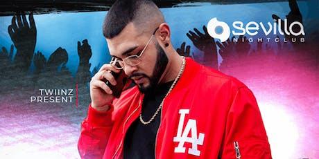 DJ Ihnternal at Sevilla Nightclub Discounted Guestlist - 10/18/2019 tickets
