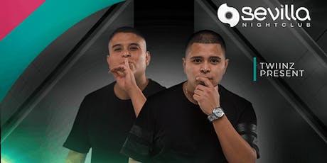 Duo DJ Twiinz at Sevilla Nightclub Discounted Guestlist - 10/25/2019 tickets