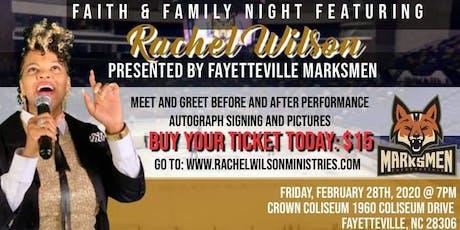 Faith and Family Night tickets